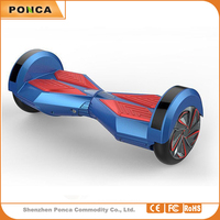 8 Inch Two Wheels Smart Self Balancing Scooters Electric Drifting Board Personal Adult Transporter