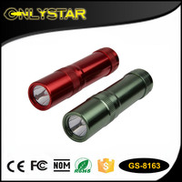 Made in Ningbo water resistant 1 watt led torch