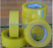 Super clear crystal bopp tape adhesive with size 48mmX66m