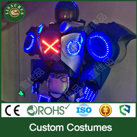 Lisaurus-J led robot costume for adult