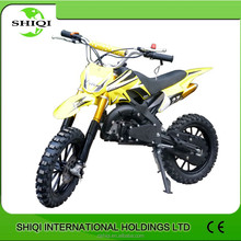 China new model Cheap gas-powered mini dirt bike for sale 50cc/SQ-DB01