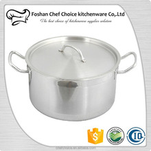 Whole Sales Stainless Steel Sauce Pot Kitchenware Soup Pot Catering Hot Pot Table Equipment