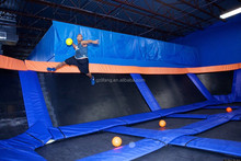 Customized Gym Olympic Trampolines with Basketball