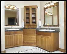 bespoke bathroom cabinets,sliding bathroom mirror cabinet/bathroom tallboy cabinet