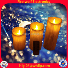 Christmas Candle Wholesale Resin Led Candle