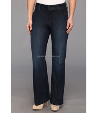 2015 Indigo dark plus size jeans for women cheap