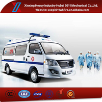 Contemporary Hot Selling Emergency Rescue Ambulance Manufacturers