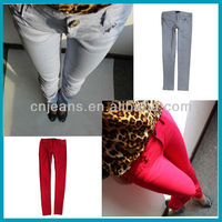 2013 color skinny jeans para hombres ripped skinny jeans for women