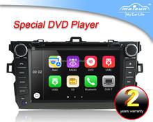 2 din Car DVD GPS Toyota Corolla with Bluetooth/TV/GPS/IPOD/USB