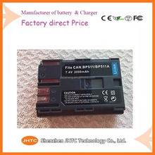 BP-511A for canon camera battery