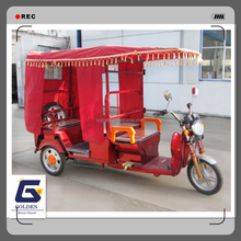 luxury cheap three wheel tricycle scooter with roof price china trike manufacturer