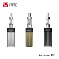 Best e cig mod mini e cigarette 2015 vape mod Vaptio Ascension T35 box mod TC function with fast shipment