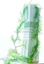 NZ-2024 wholesale decorative artificial grass purple bamboo and rattan
