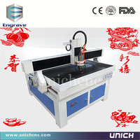 Unich!!! 3d furniture sculpture wood carving cnc router machine/mini cnc milling machine