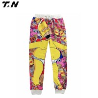 Hotselling new style sublimation woman jogger pants