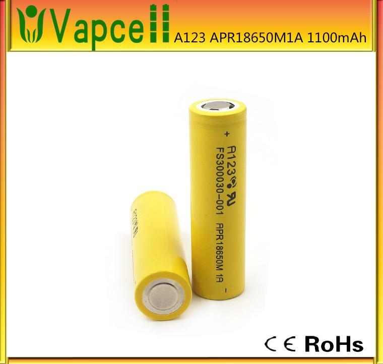 Литий-ионный Lifepo4 18650 батареи A123 APR18650M1A 3.2 В 1100 мАч батареи