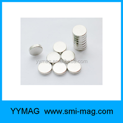 Hot sale small disc neodymium magnet for photo frames