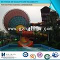 de fibra de vidrio de agua del parque diapositivas para la venta