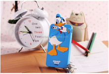 For iphone 5 5s & 4 4s Silicone case 3D cartoon mickey minnie mouse Donald Duck Chip Bear rubber cell phone cases covers