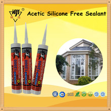 Transparent Acetic Silicone Free Sealant/silicone Sealant For Boat Window Seals