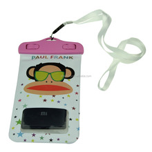 waterproof bag phone with Strap for Swimming Diving Beach