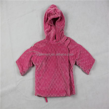 infant girls minkly dot short soft fur hooded coat