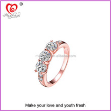 2015 best selling sterling silver o ring high quality o shape ring gold plating o ring
