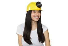 DHL free shipping Children's or Adult Adjustable Plastic Miner Cap Mining Safety Hard Hat Construction Helmet with light