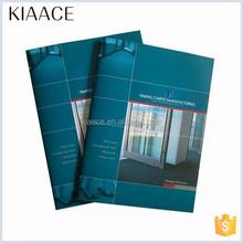 Catalogue printing high quality brochure famous catalog