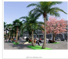 Fashion style factory price artificial coconut palm tree for lanscape decoration