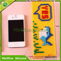 Silicone DIY School Student Pencil / stationery box case