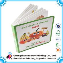 Cheap custom color children's board book printing on demand