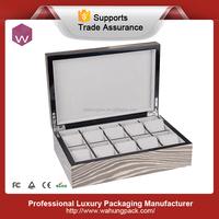 China profeesional wood watch box manufacturer