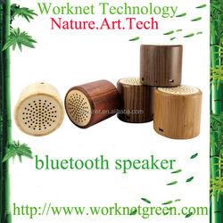 shenzhen factory multi-function original green real zebra wood mini speaker hand made