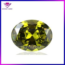 Top quality Machine cut cz 5*7mm period loose gems stone for Jewelry making