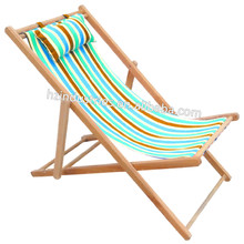 Solid beach chair for heavy people factory with cheap price