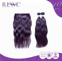 Stylish Quality Guaranteed Advantage Price Oem Production Silk Smooth Dark Brown Hair Light Brown Tone