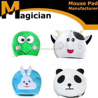 2015 cartoon animals small size wrist warm mouse pad