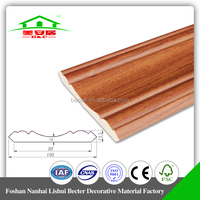 PVC ceiling cornice decorative moulding for building material