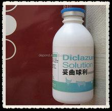 Diclazuril + Toltrazuril solution anticoccidial drug