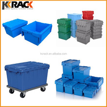 Full range size and Stackable Distribution Plastic turnover box