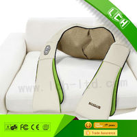 2015 Top Selling LCH Deluxe shiatsu neck shoulder kneading massager for health care Shenzhen factory