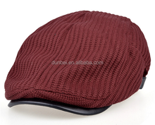 Wholesale factory custom 2015 new Candy color fashion mens knitted winter caps