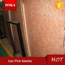 China competitive price natural stone iran pink marble block