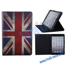 Wholesale Retro UK Flag Leather Case for iPad Mini Retina