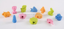 Cute animal shape pencil eraser topper , Pen topper Eraser