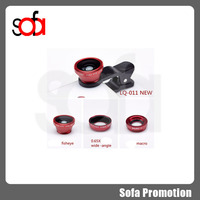 2015new produc Universal circle clip 180degree super fisheye mobile phone camera lens,mobile phone accessories factory in china