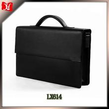 Mais recentes e populares maleta de couro moda, advogado maleta, maleta