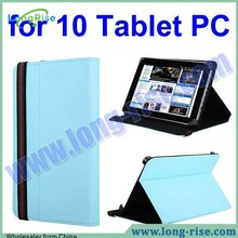 Universal Anti-scratch Flip Stand Leather Case for All 10 Inch Tablet PC with Elastic Belt