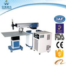 High laser beam energy density Channel Letter Metal Laser Welding Machine For Letters